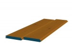 12 x 89mm Pre-Stained Redwood TGV Sheeting (8x0.9m)