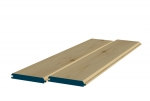 12 x 89mm Pre-Varnished Redwood TGV Sheeting (8x0.9m)