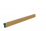 18 x 30mm Pre-Varnished Solid White Oak Nosed Hockey Stick (10x2.4m)