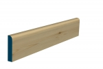 19 x 94mm Pre-Varnished Redwood Pine Bullnose Architrave & Skirting (5x2.25m)