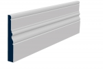 25 x 169mm Pre-Primed/Pre-Painted Wood Laurel Skirting (5x2.4m)