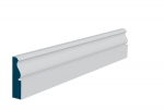 25 x 94mm Pre-Primed/Pre-Painted Wood Rushen Architrave & Skirting (5x2.25m)