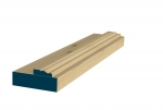 31 x 107mm Pre-Varnished Redwood Door Liner (Single Door)