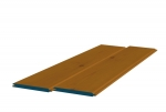 8 x 89mm Pre-Stained Redwood TGV Sheeting (10x2.4m)