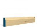 19 x 69mm Pre-Varnished Redwood Pine Chamfered Architrave or Skirting (5x2.25m)