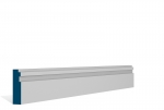 19 x 69mm Pre-Primed / Pre-Painted Wood Double Step Architrave or Skirting (5x2.25m)
