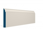 19 x 144mm Pre-Painted Wood Ovolo Skirting - Ivory (5x2.4m)