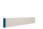 19 x 69mm PRE-PAINTED Wood Square Edge Architrave/Skirting - IVORY