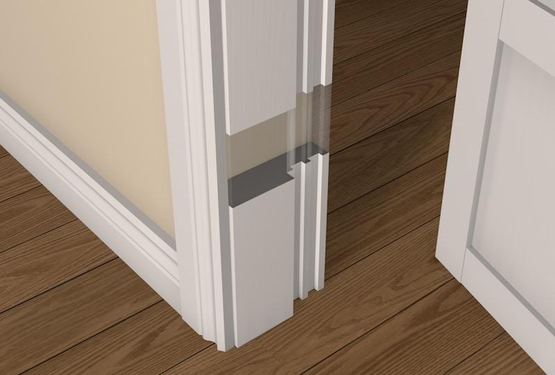 44mm Pre Painted Wood 60 Minute Fire Rebated Door Frame   White U20ac141.20  (inc VAT)