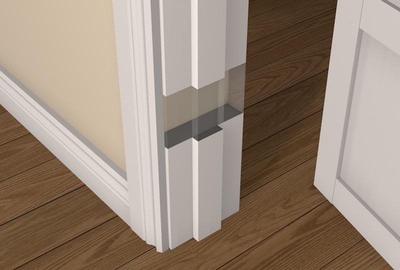 pre primed whitewood square edge door frame packs uk diy. Black Bedroom Furniture Sets. Home Design Ideas